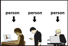 Don't forget — everyone on the Internet is an actual person. http://spcshp.it/1g0 pic.twitter.com/F0UWBW9Tjn
