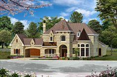 Bentonville House Plan: 2 story, 6065 square foot, 5 bedroom, 5 full bathrooms