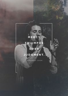 """You delight in showing mercy. Mercy triumphs over judgment."" -Amanda Cook during WorshipU On Campus"