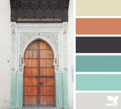 A Door Hues - http://design-seeds.com/index.php/home/entry/a-door-hues5