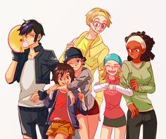 gender bend bh6 fred x gogo - Google Search