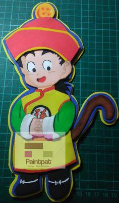 Personaje de Dragon Ball, el pequeño Gohan. en foamy Dragon Ball, Luigi, Disney Characters, Fictional Characters, Disney Princess, Art, Themed Parties, Jelly Beans, Dragons