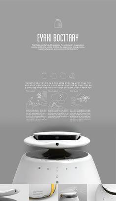 Industrial design, Product desgin 4D projector beam Design by_Hwang jihyun