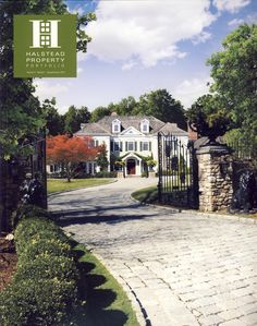 Released - Spring/Summer 2010 Portfolio Magazine - Connecticut Edition.  Amazing New Canaan Front Cover.  FUN FACT: Shot was taken in Winter and all trees were digitally inserted by our Creative Director Al Delaney.  All trees were confirmed to be the same family of tree that is actually there.