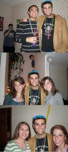 He is a pro photobomber