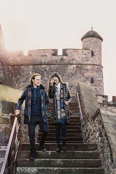 Our Autumn Winter 2017 Tartan collection is perfect for an autumnal stroll around Edinburgh. As worn here by Actor, Sam Heughan.