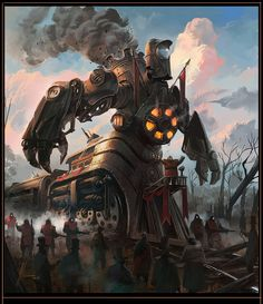 railway engine centaur by neisbeis.deviantart.com on @deviantART