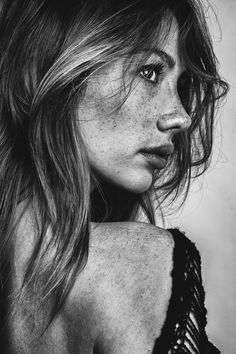 by Gregory Blake: I've always found freckles beautiful! I always fancy boys with freckles and think girls with freckles are beautiful. Definately an under appreciated feature.