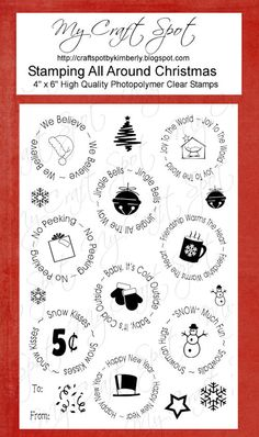 Stamping All Around Christmas stamp set