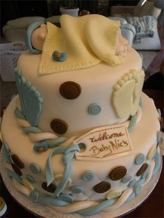 Inspiration for a christening cake