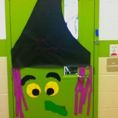 My classroom door witch.