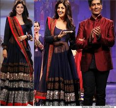 manish malhotra royal blue lehenga - Google Search
