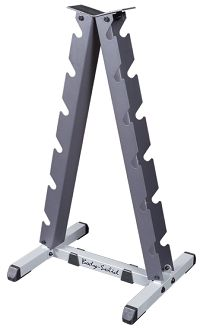 8 Pair Vertical Dumbbell Rack by Deltech Fitness