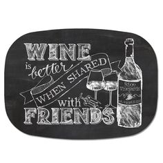 wine quotes chalkboard - Google Search