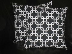 pillows 20 inch Chain Link Decorative by LittlePeepsHomeDecor, $33.00