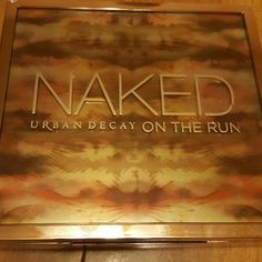 Urban decay naked on the run palette Just found no use for it. never used the lip gloss or the mascara. I kept the eyeliner. I swatched the eyeshadows. Never touched the blush and bronzer. Sorry no box. Urban Decay Makeup Eyeshadow
