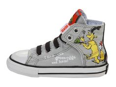 how cute are these? dr. suess inspired chucks!