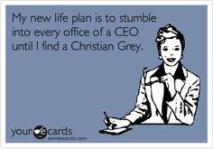 ha! ... yes it is! O_O ... :P Fifty Shades of Grey - E.L. James