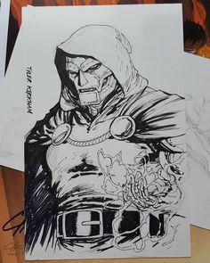 Dr Doom by Tyler Kirkham