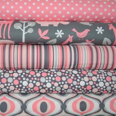 Bloom Zoology 5 Fat Quarters Bundle for Michael Miller 1 25 Yards Total Tissu Michael Miller, Michael Miller Fabric, Fabric Yarn, Quilting Fabric, Quilt Material, Fabric Combinations, Fabric Online, Fat Quarters, Fabric Samples