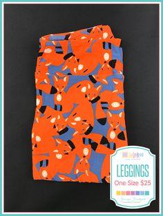 #lularoe #foxes #lularoejenniferbradford #leggings