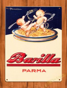 Vintage Food Posters, Vintage Italian Posters, Retro Vintage, Vintage Advertising Posters, Retro Ads, Vintage Labels, Vintage Advertisements, Advertising Signs, Retro Poster