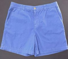 "Southern Proper Preppy Camp Shorts Sz XL Blue 6"" Inseam Pitch A Tent Deep Pocket #SouthernProper #CasualShorts"