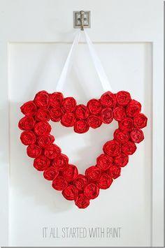 Valentine's Day Wrea