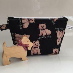 Super fabric! Little Scottie dog is gorgeous!