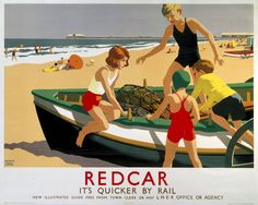 YORKSHIRE Redcar by LNER