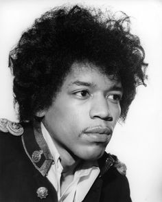 Jimi Hendrix photographed by Harry Goodwin, 1967