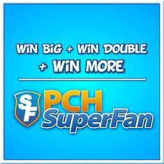 If you're a #PCH fan are you also a #PCHSuperFan? If not, here's your chance to register: http://bit.ly/BecomeAPCHsuperfan