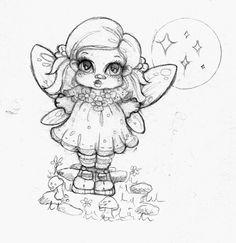 Flower Fairy sketch by Heartsdesire-fantasy on deviantART