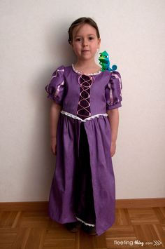Tangled Rapunzel Costume (Tutorial and pattern)