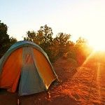 #Camping with L.L.Bean