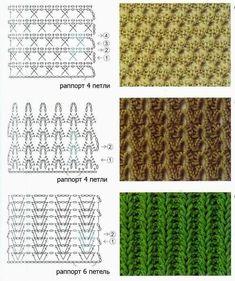 100 Maravillosos Patrones de Puntos en Crochet más utilizados en el 2018