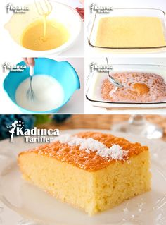 3 Dakika Tatlısı Tarifi Sorbet, Vanilla Cake, Family Meals, Yogurt, Deserts, Muffin, Food And Drink, Cos, Cupcake