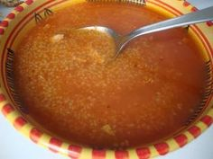 Recette 100% Tunisienne: Soupes Tunisian Food, Weight Loss Soup, Ramadan Recipes, Dessert Recipes, Desserts, Food Porn, Pudding, Cooking, Chowders