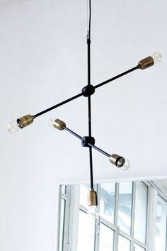 Molecular Ceiling Light
