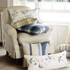 Cranbourne Dark Seaspray Cushion