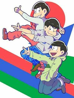 Osomatsu, Karamatsu & Choromatsu