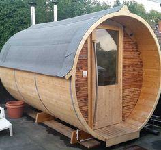 Mein bestes Projekt - Kategorie Bauen in und am Haus: Die eigene Sauna im Garten