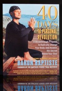Change your entire life in 40 powerful days! Reminder that I really want to do this one day...