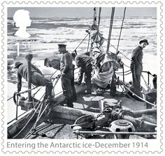 1st, Entering the Antartic ice - December 1914 from Shackleton and the Endurance Expedition (2016)