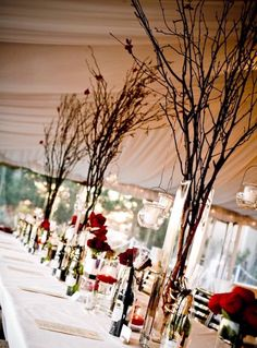 Twigs and sprigs can be elegantly done in a simple way!