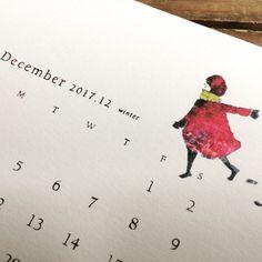 #illustration #calendar #paper #art #drawing #ink #pen #simple #design #junsasaki #animal #2017