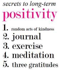Long-Term Positivity | The Happiness Advantage http://theclassyclub.blogspot.com/2013/02/the-happiness-advantage.html