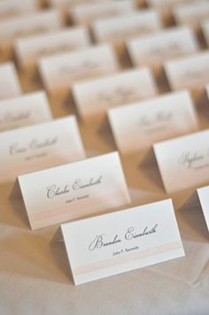 Instant Download Rustic Script Editable Place Card Template DIY