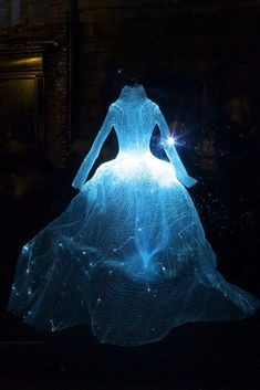 I want to wear this dress and walk through the forest at night.