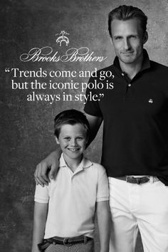 """""""Trends come and go, but the iconic polo is always in style."""""""